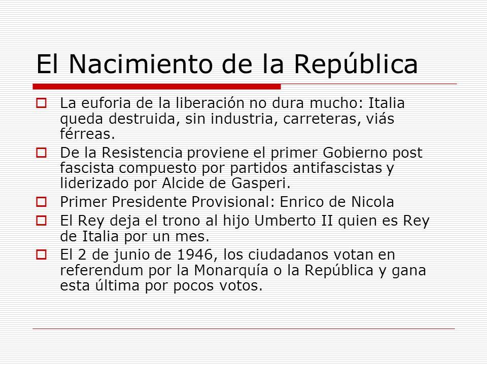 El Nacimiento de la República