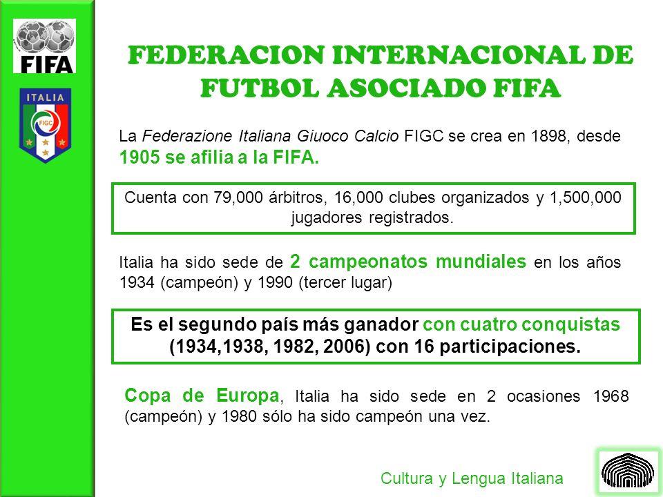 FEDERACION INTERNACIONAL DE FUTBOL ASOCIADO FIFA