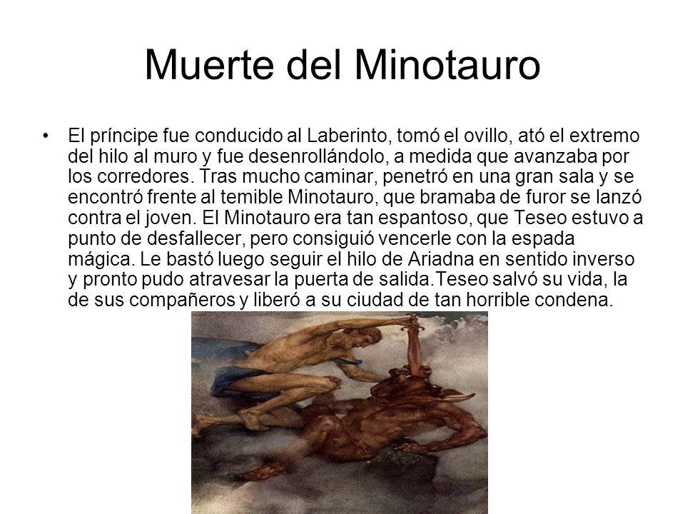 Muerte del Minotauro