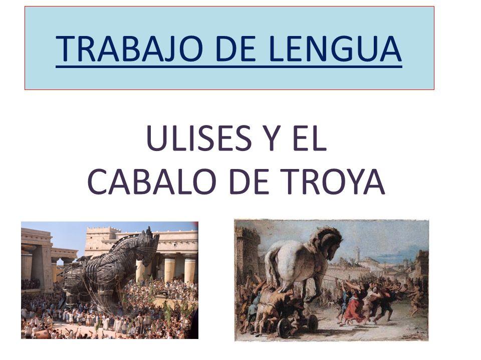 ULISES Y EL CABALO DE TROYA