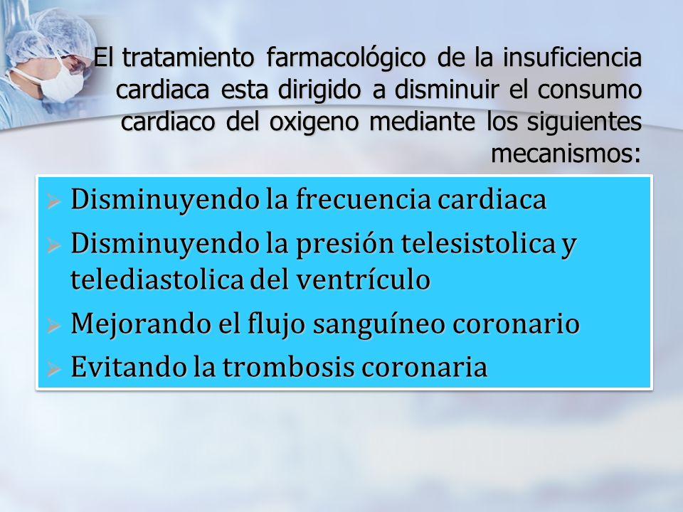 Disminuyendo la frecuencia cardiaca