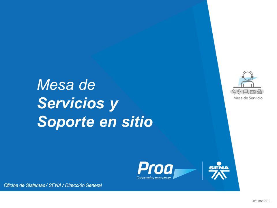 Intro Mesa de Servicios y Soporte en sitio
