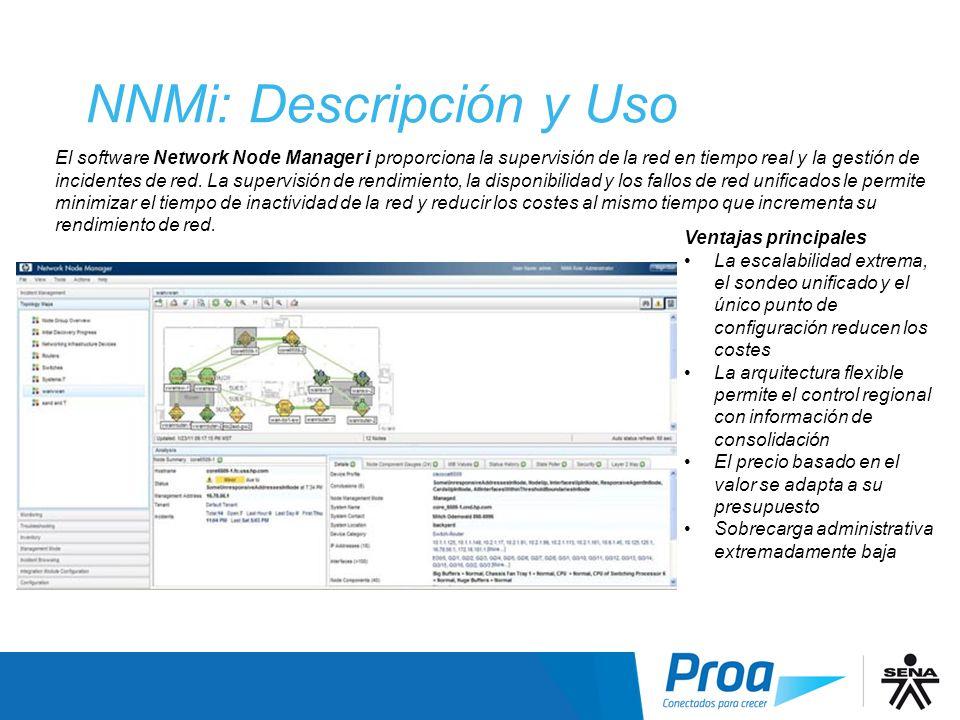 NNMi: Descripción y Uso