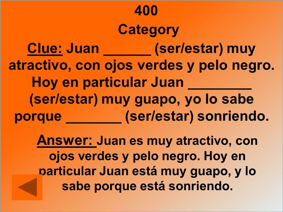 400 Category.