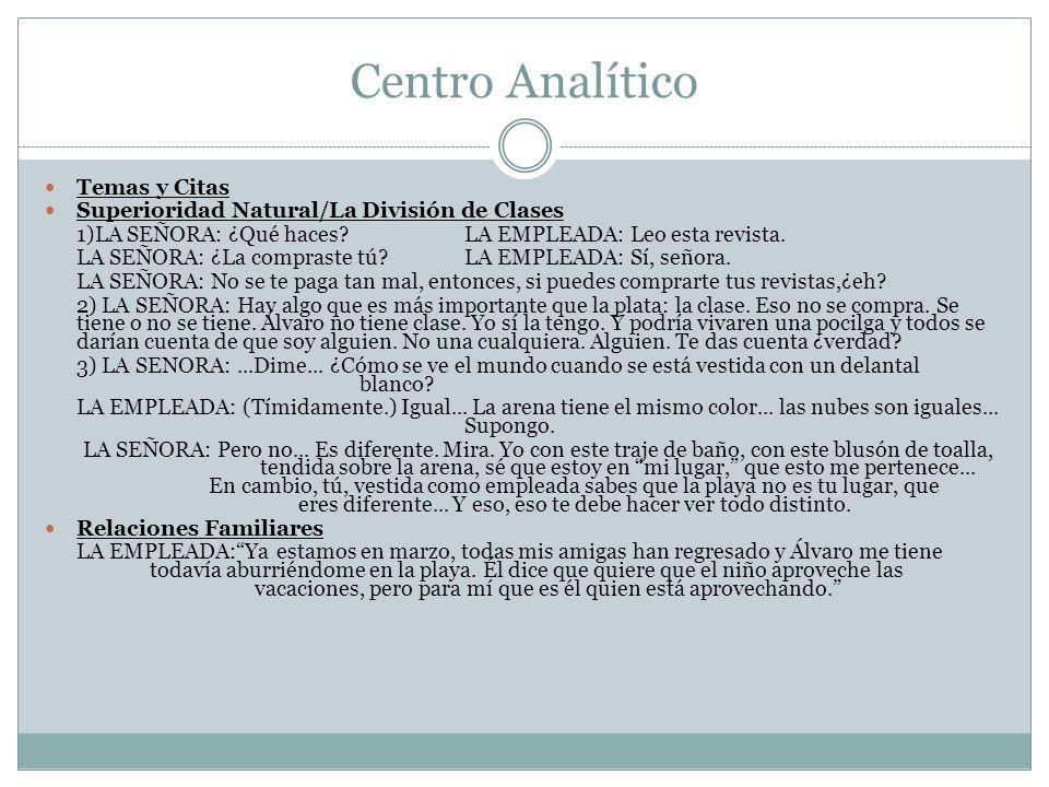 Centro Analítico Temas y Citas
