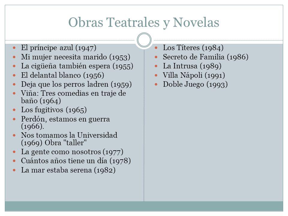 Obras Teatrales y Novelas