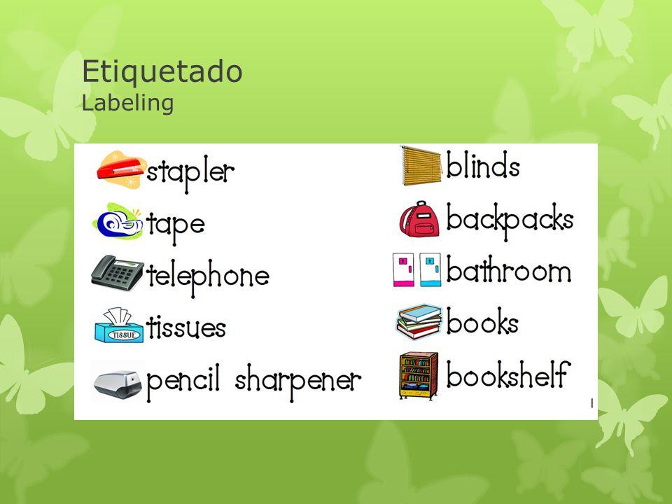 Etiquetado Labeling