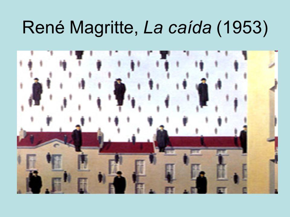 René Magritte, La caída (1953)