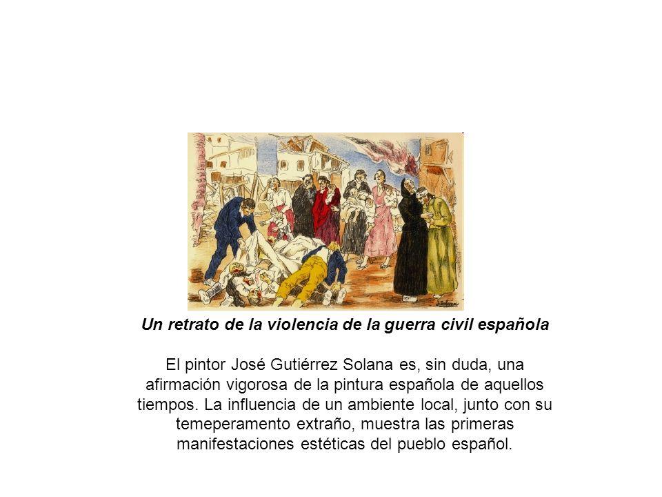 Un retrato de la violencia de la guerra civil española