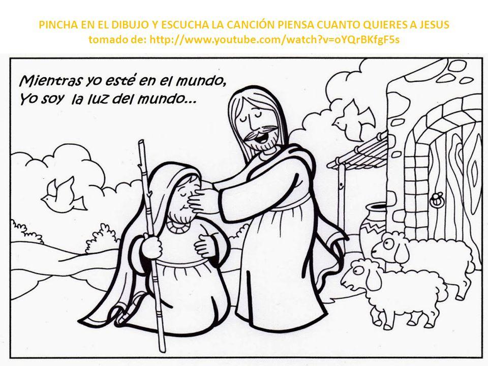 PINCHA EN EL DIBUJO Y ESCUCHA LA CANCIÓN PIENSA CUANTO QUIERES A JESUS tomado de: http://www.youtube.com/watch v=oYQrBKfgF5s