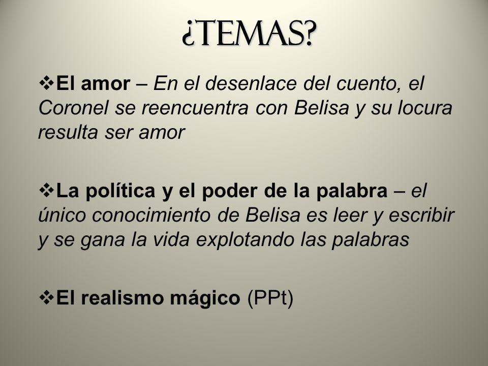 El realismo mágico (PPt)