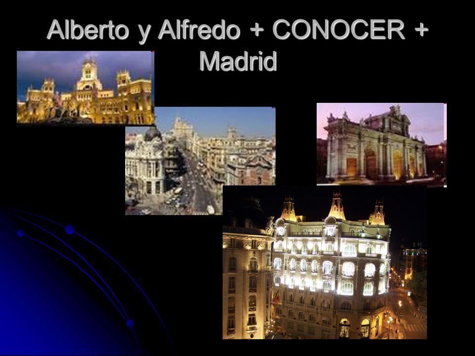 Alberto y Alfredo + CONOCER + Madrid