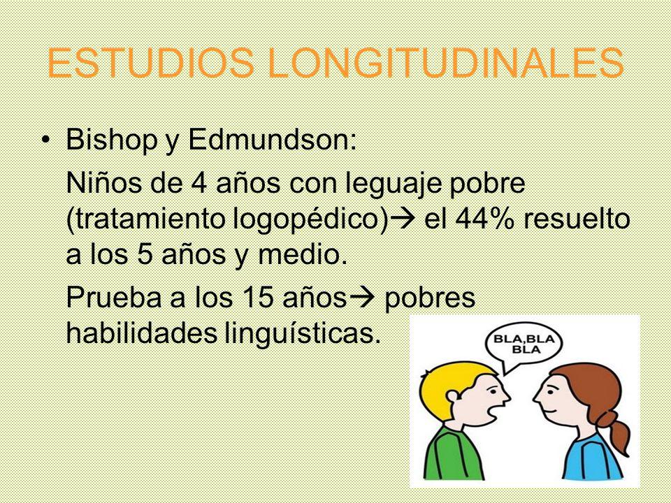 ESTUDIOS LONGITUDINALES