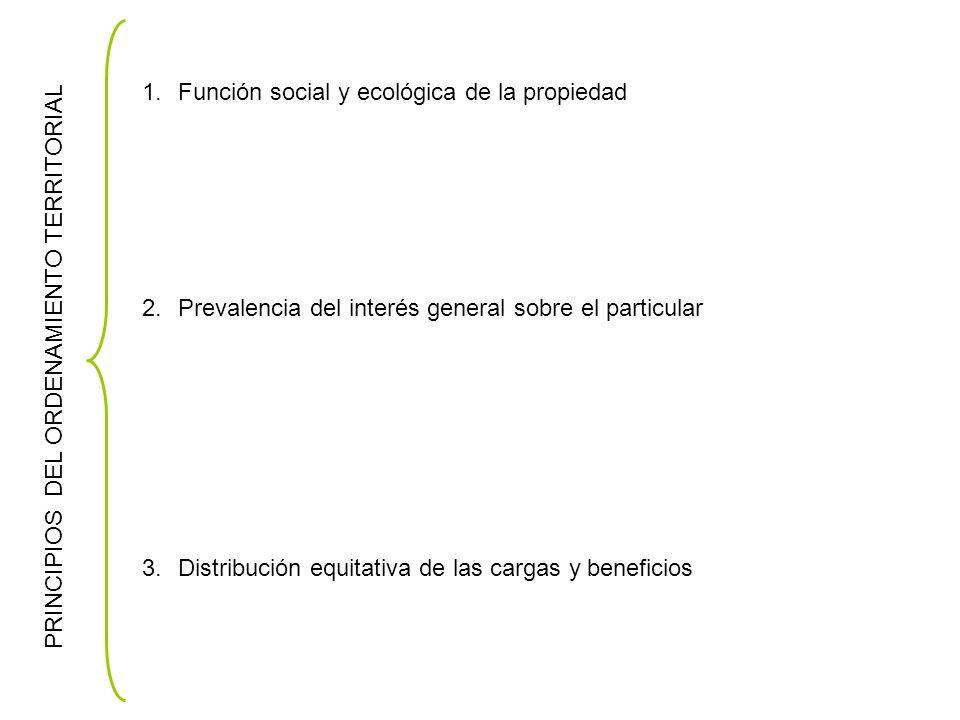 Función social y ecológica de la propiedad