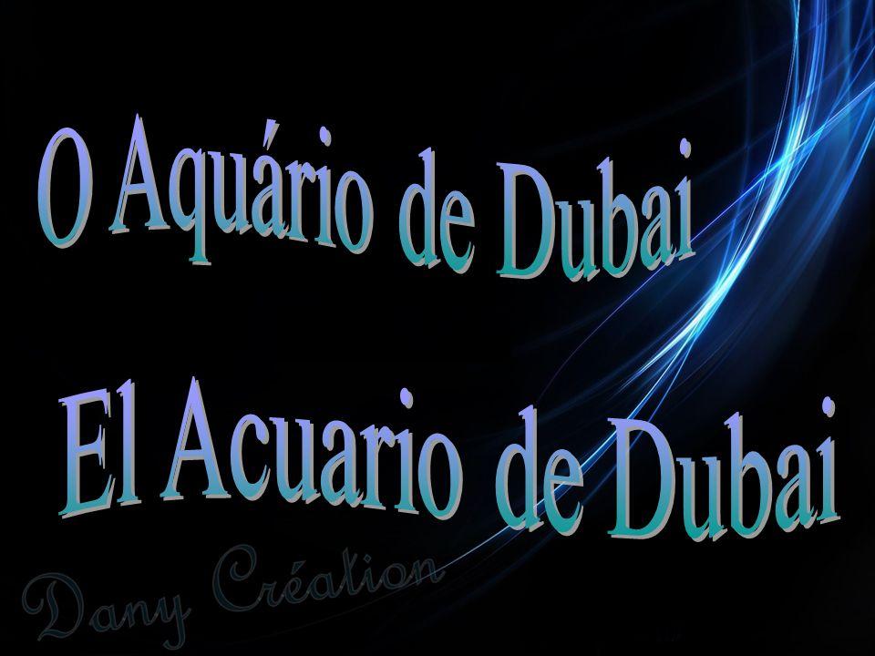 O Aquário de Dubai El Acuario de Dubai