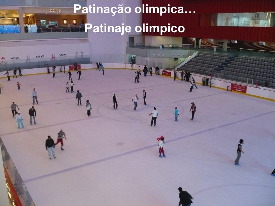 Patinação olimpica… Patinaje olimpico