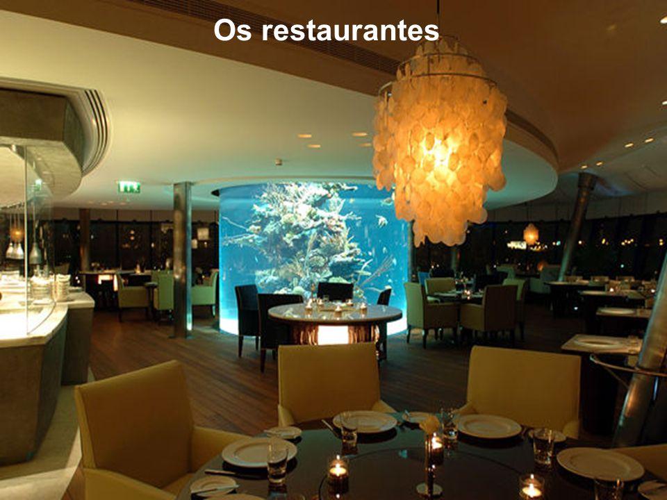 Os restaurantes