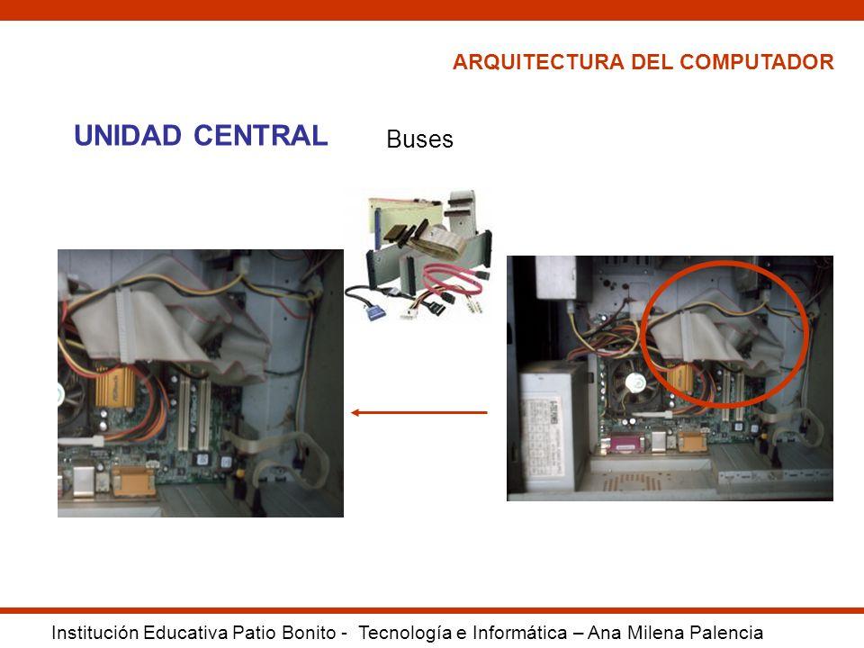 UNIDAD CENTRAL Buses ARQUITECTURA DEL COMPUTADOR