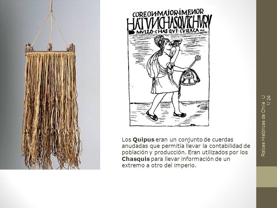 Raíces Históricas de Chile U 1/ 24
