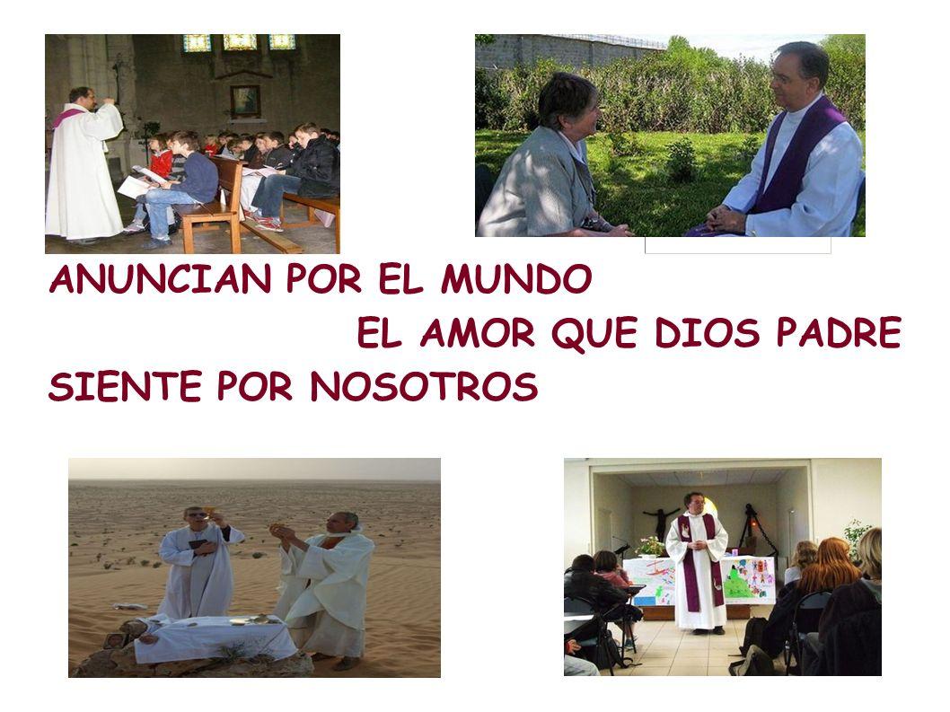 ANUNCIAN POR EL MUNDO EL AMOR QUE DIOS PADRE SIENTE POR NOSOTROS
