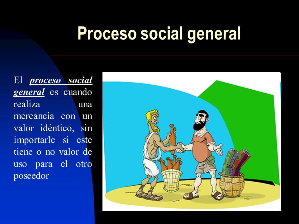 Proceso social general