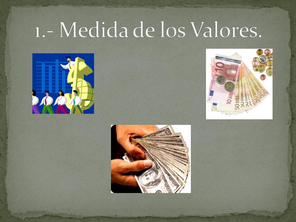 1.- Medida de los Valores.