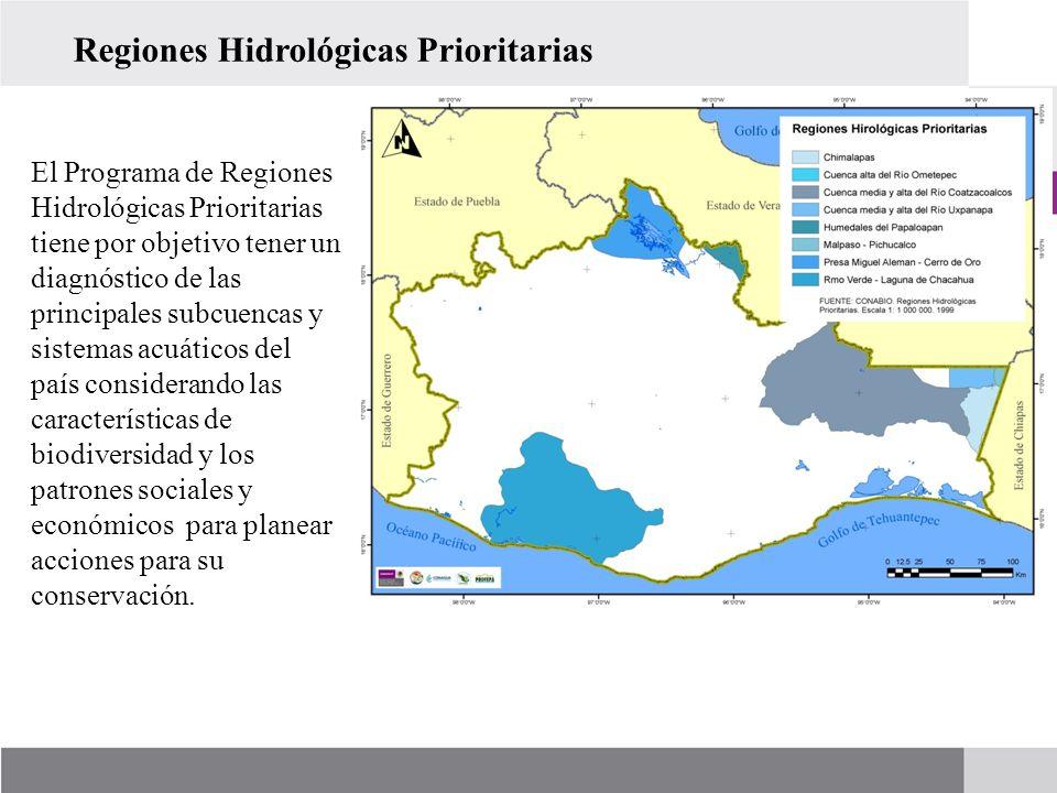 Regiones Hidrológicas Prioritarias