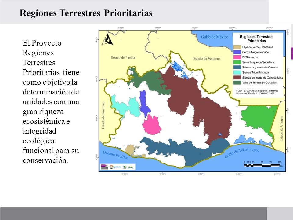 Regiones Terrestres Prioritarias