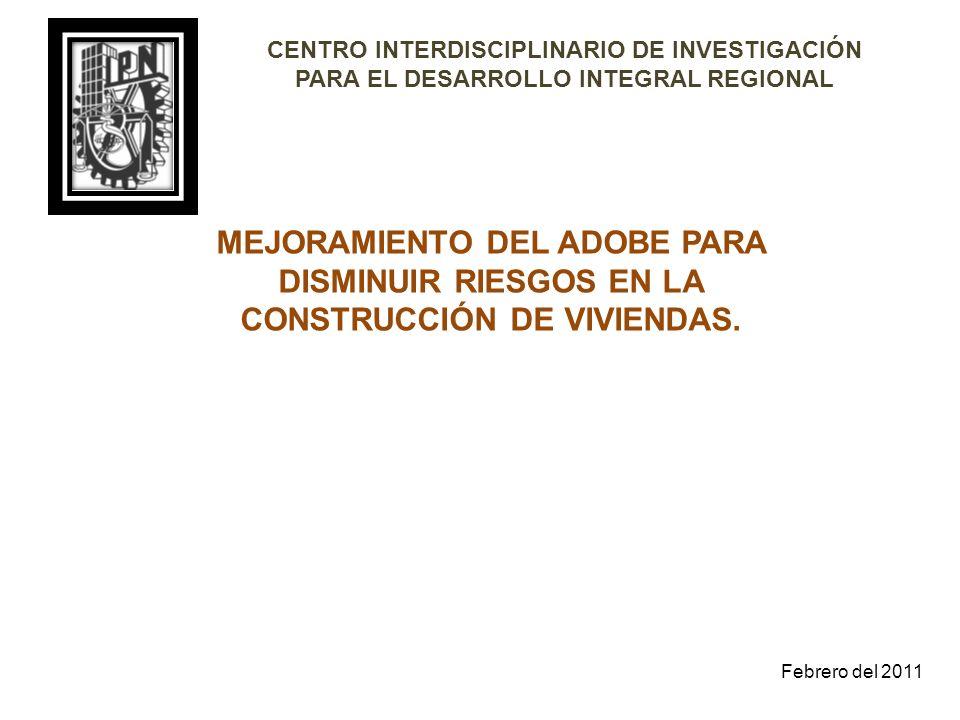 CENTRO INTERDISCIPLINARIO DE INVESTIGACIÓN PARA EL DESARROLLO INTEGRAL REGIONAL