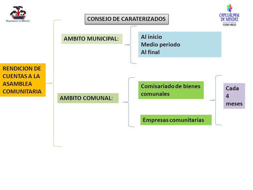 CONSEJO DE CARATERIZADOS
