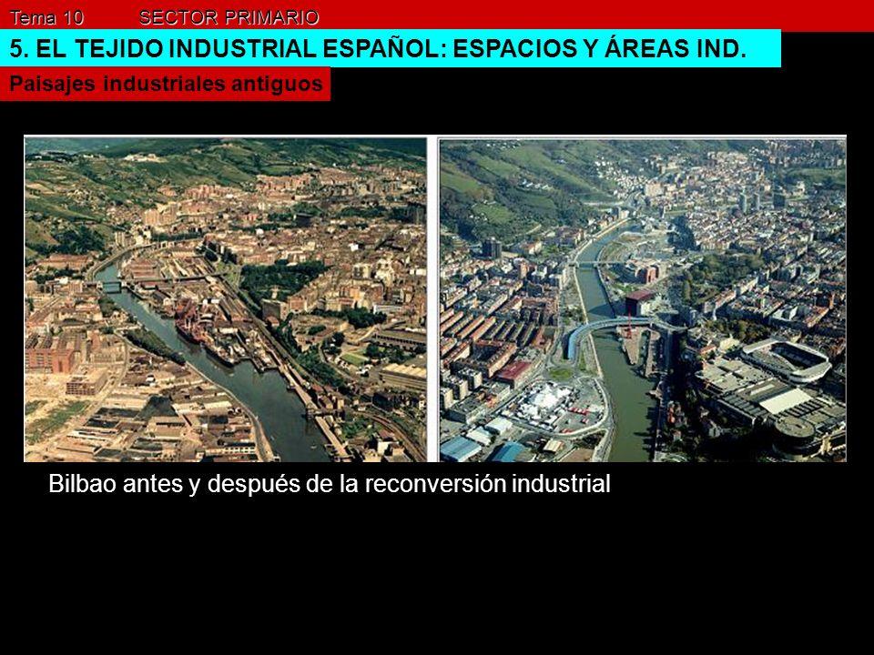 Bilbao antes y después de la reconversión industrial