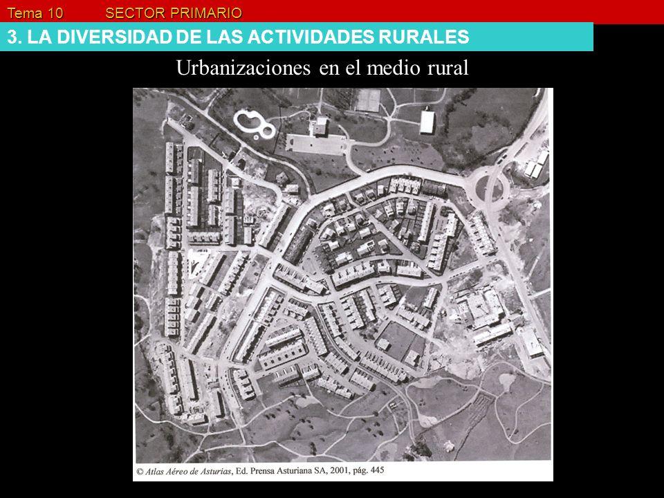 Urbanizaciones en el medio rural