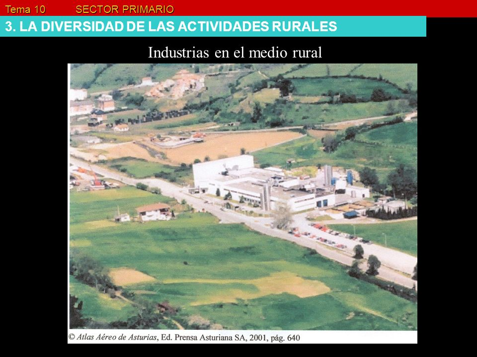Industrias en el medio rural