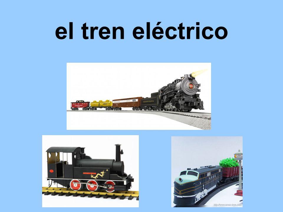 el tren eléctrico