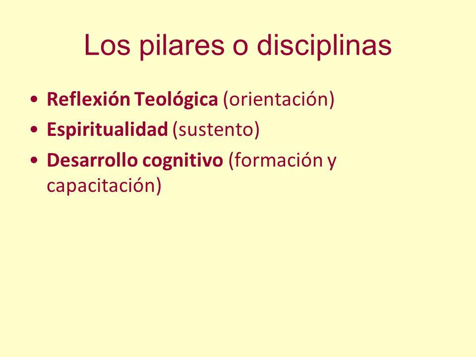 Los pilares o disciplinas
