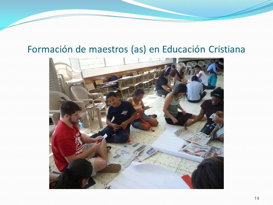 Formación de maestros (as) en Educación Cristiana