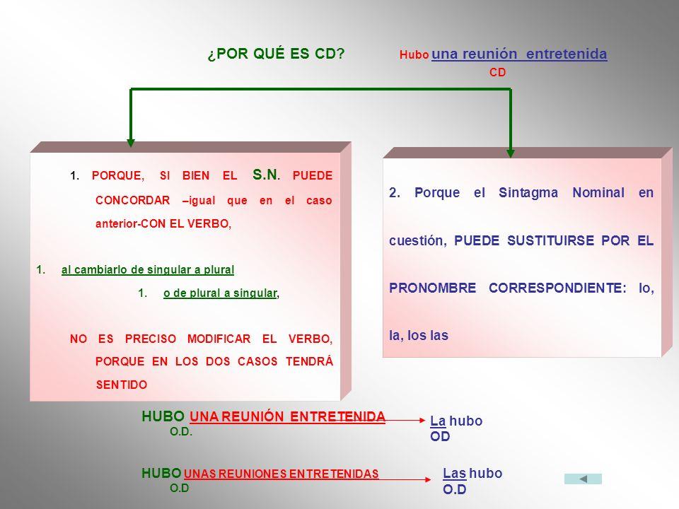 HUBO UNA REUNIÓN ENTRETENIDA