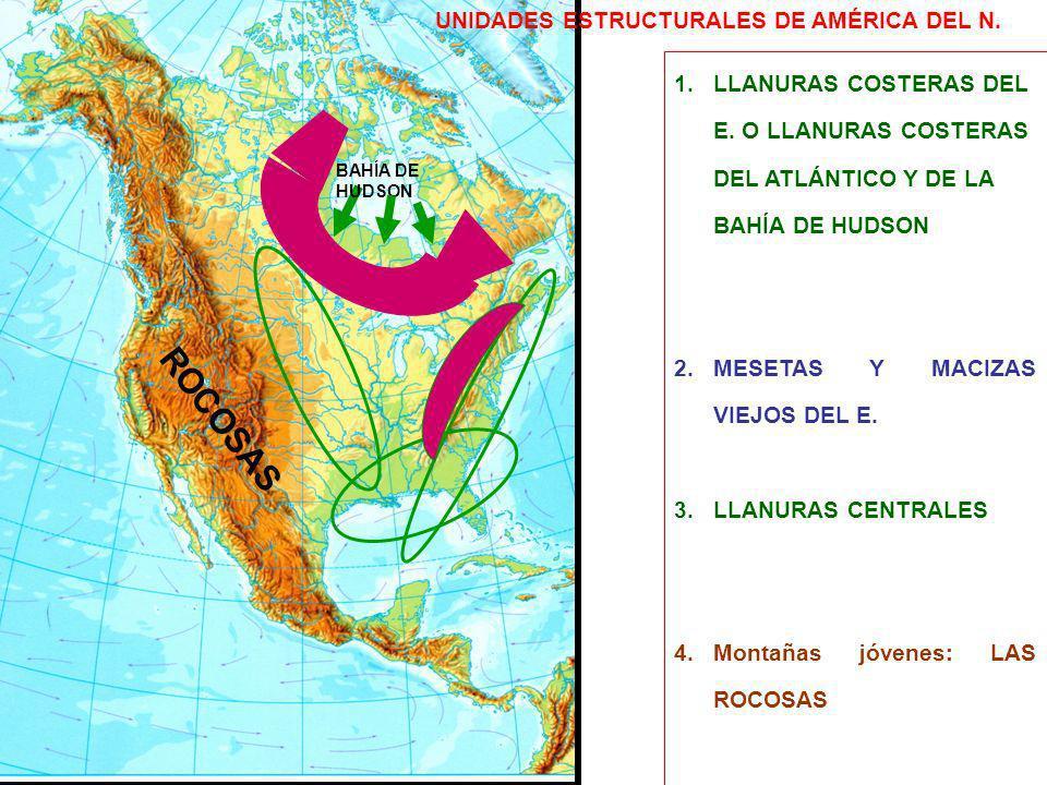 ROCOSAS UNIDADES ESTRUCTURALES DE AMÉRICA DEL N.