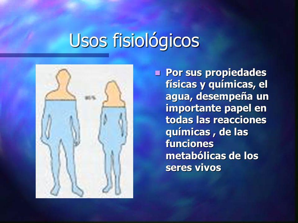Usos fisiológicos