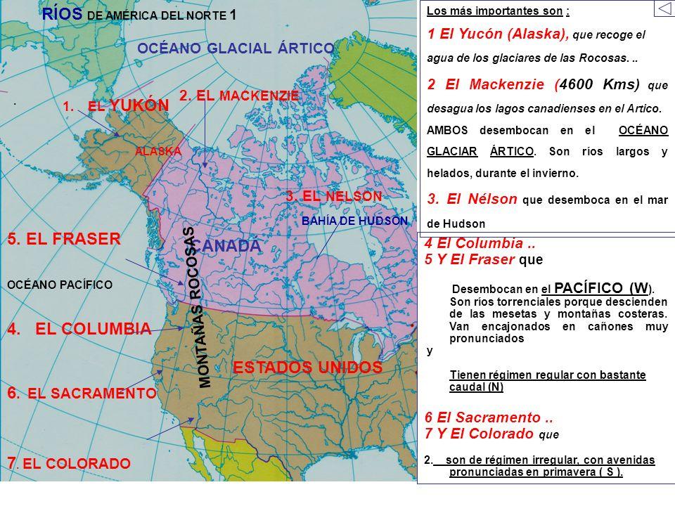 RÍOS DE AMÉRICA DEL NORTE 1