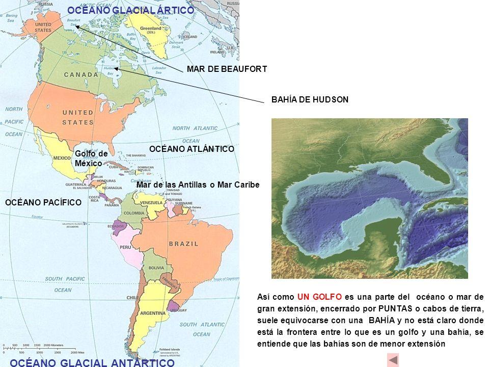OCÉANO GLACIAL ANTÁRTICO