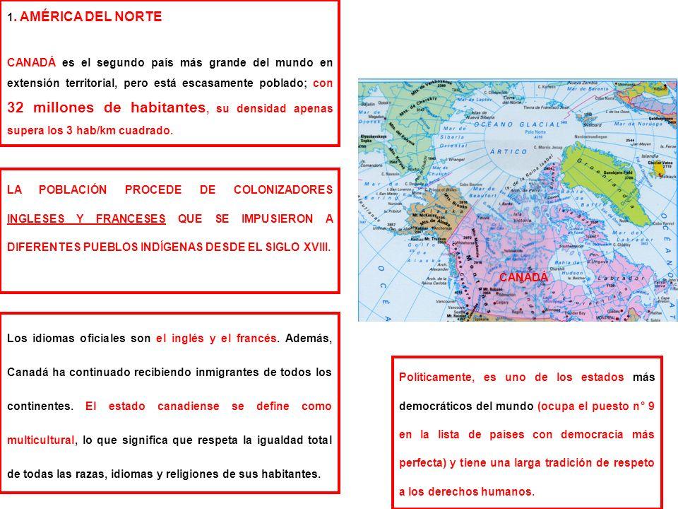 1. AMÉRICA DEL NORTE