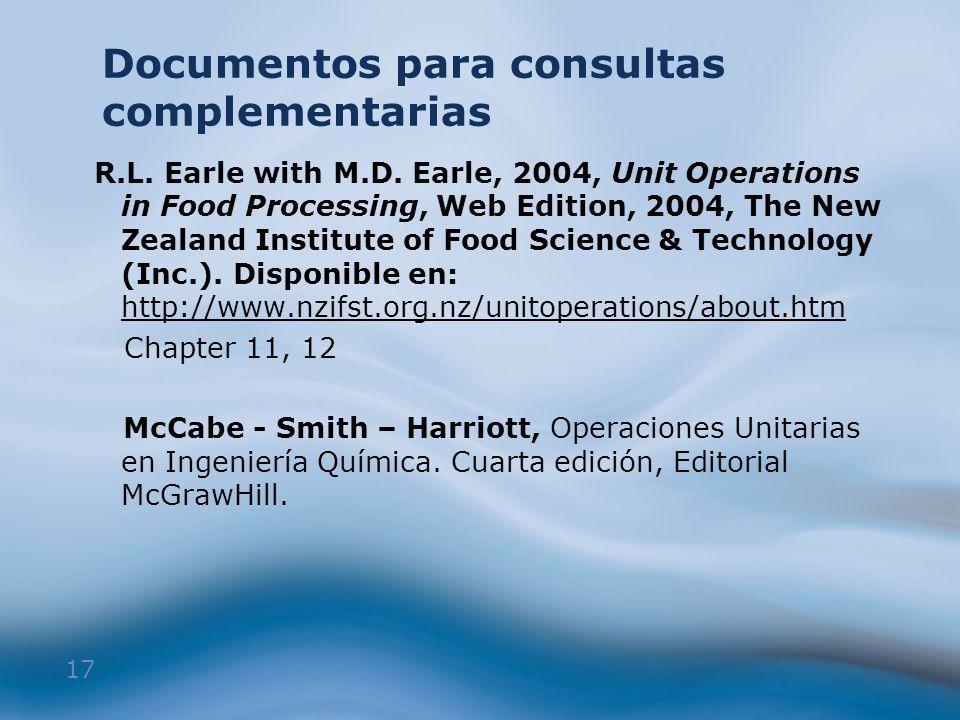 Documentos para consultas complementarias