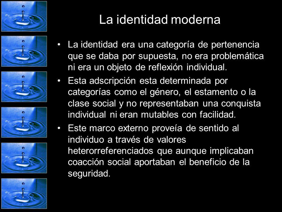 La identidad moderna