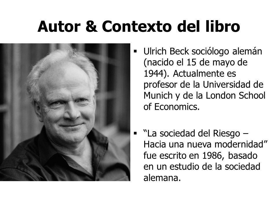 Autor & Contexto del libro