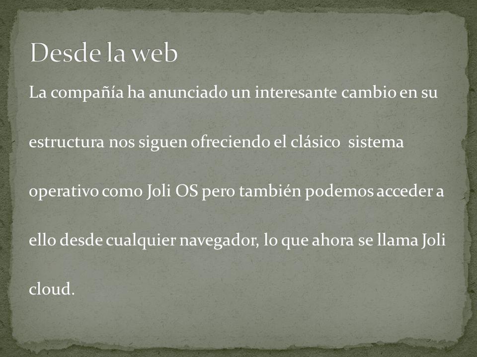 Desde la web