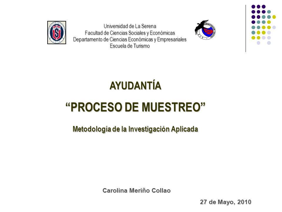 Metodología de la Investigación Aplicada Carolina Meriño Collao