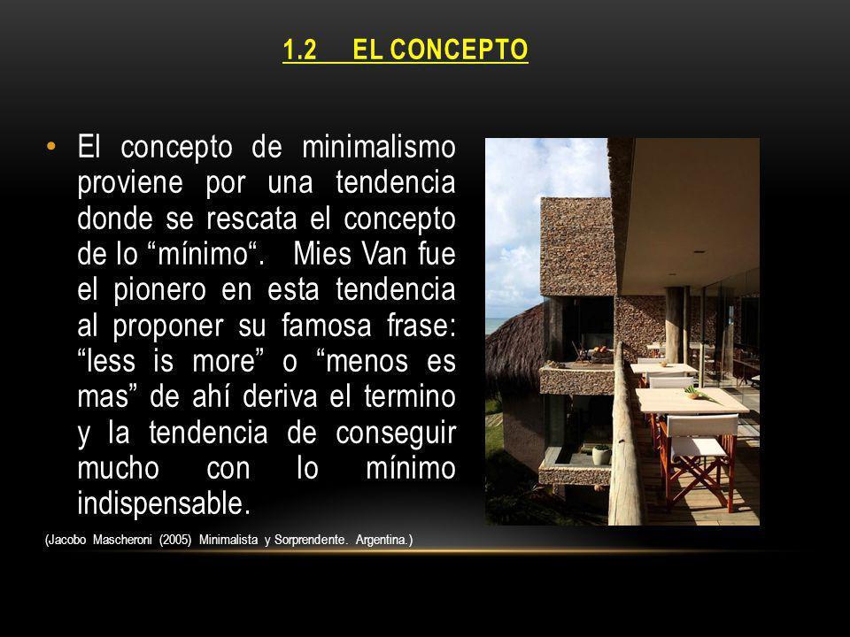 1.2 EL CONCEPTO