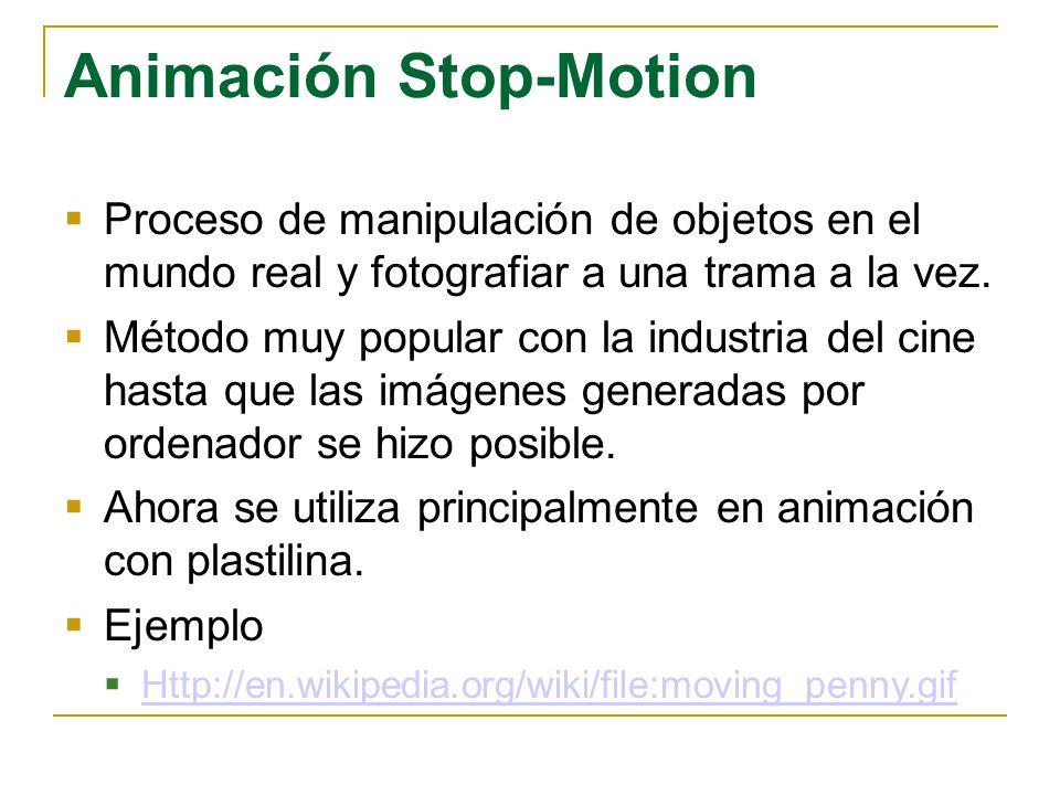 Animación Stop-Motion