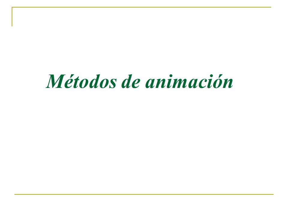 Métodos de animación 4